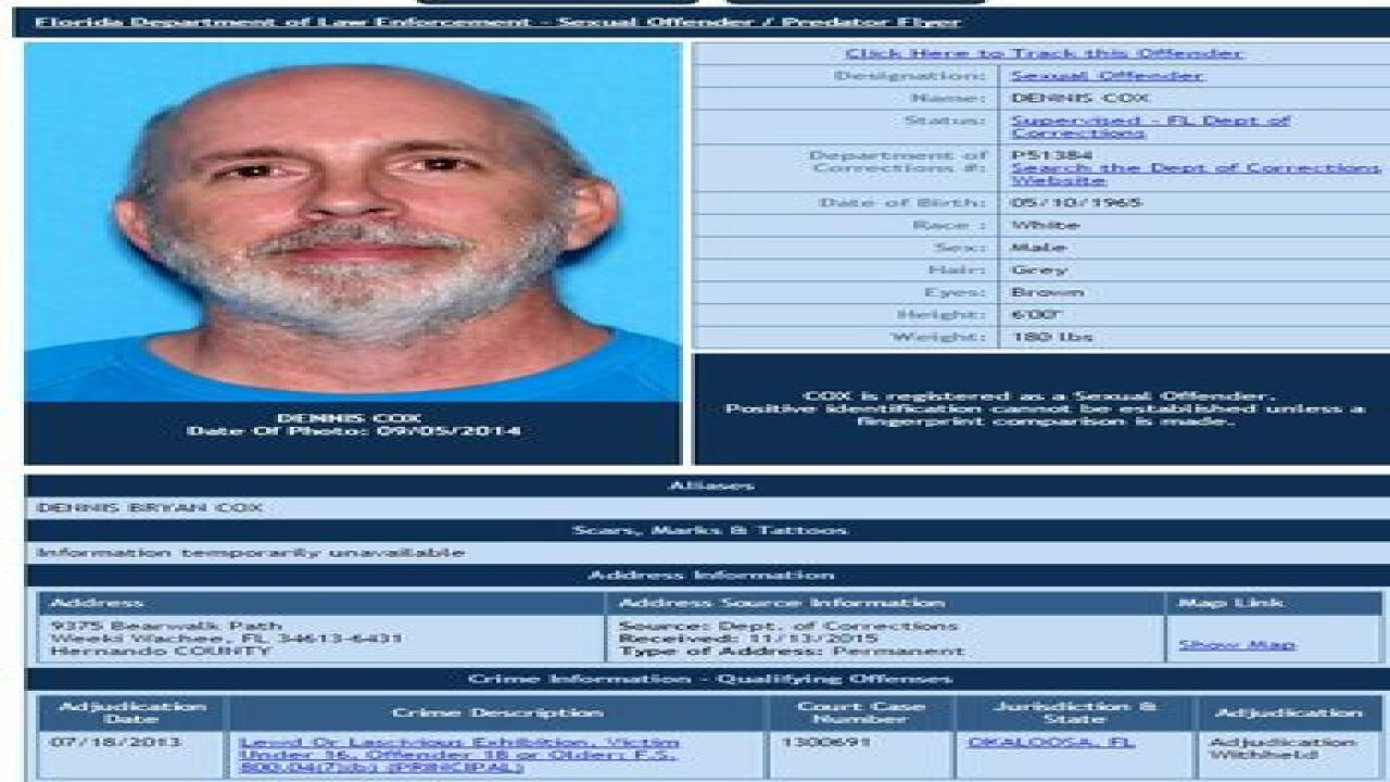Deputies: Violent sex offender on the run