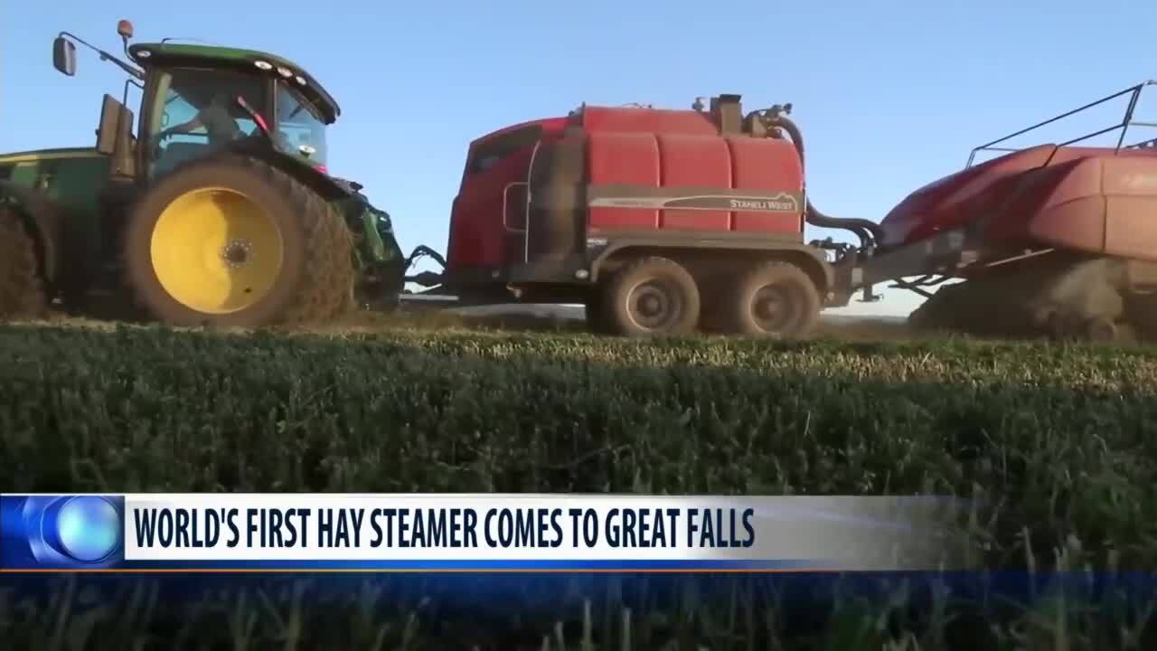 World's only Hay Steamer featured at MAGIE in Great Falls