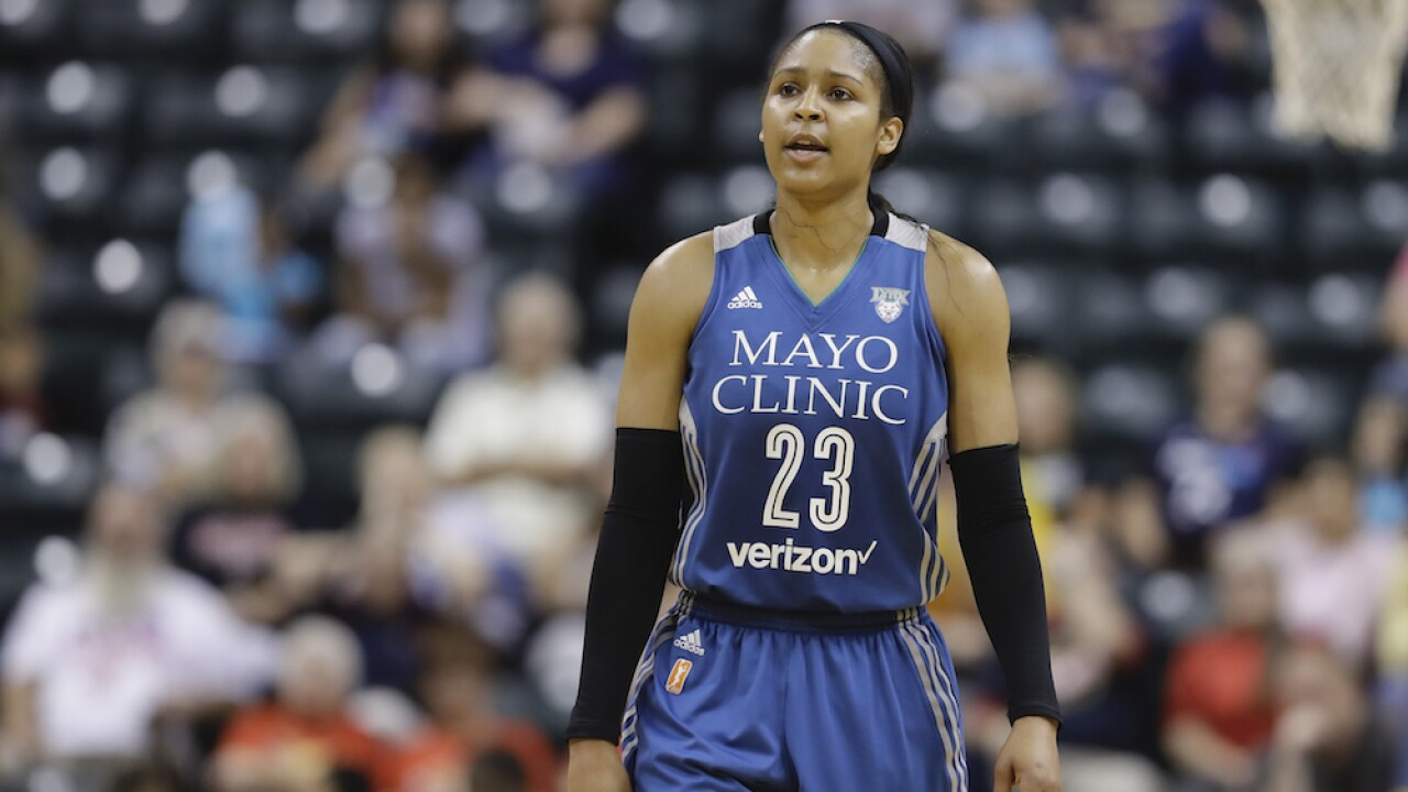 WNBA star Maya Moore marries man she helped free from wrongful conviction