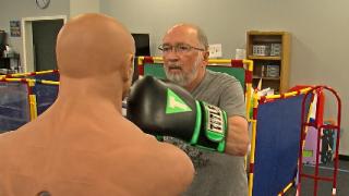PHOTO: Boxing gym