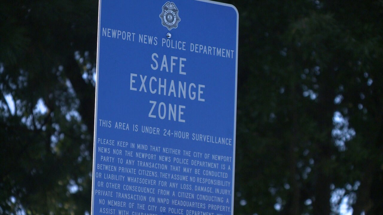 'You don't know who you're meeting up with' Newport News Police ask people to use safe exchangezones