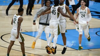 NCAA Final Four Houston Baylor Basketball