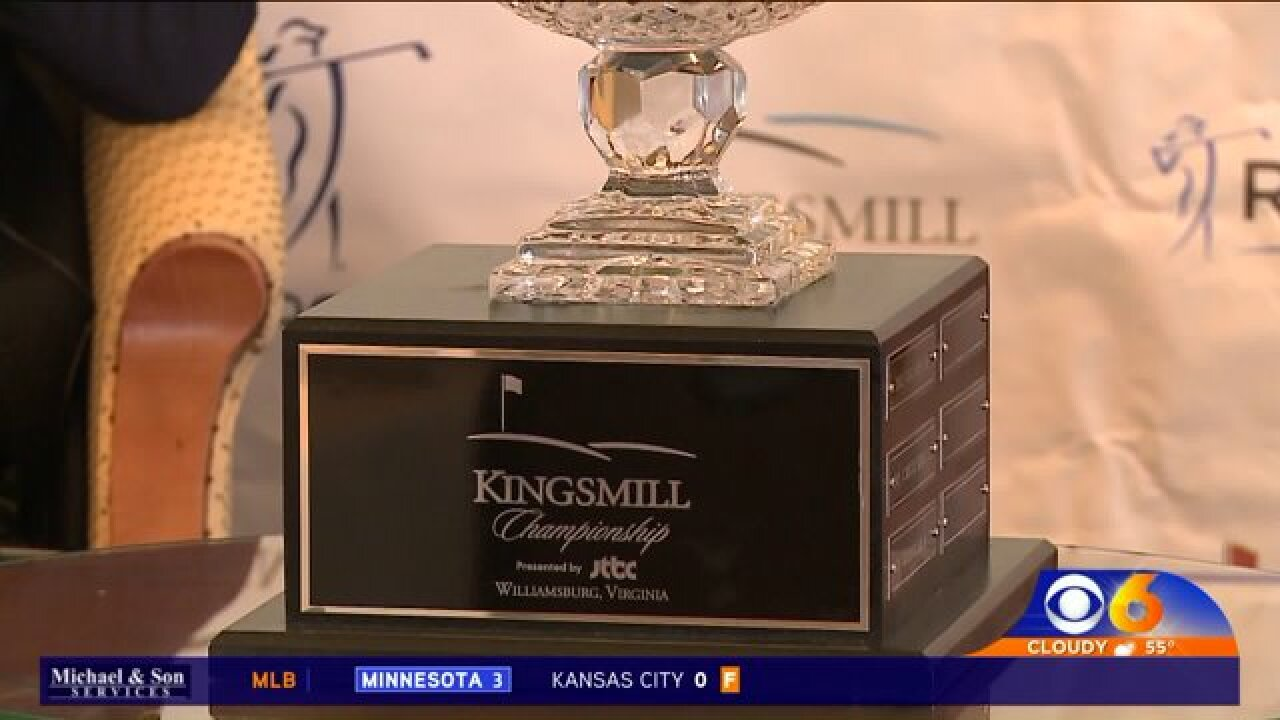 Defending Kingsmill Champion excited about returning toWilliamsburg