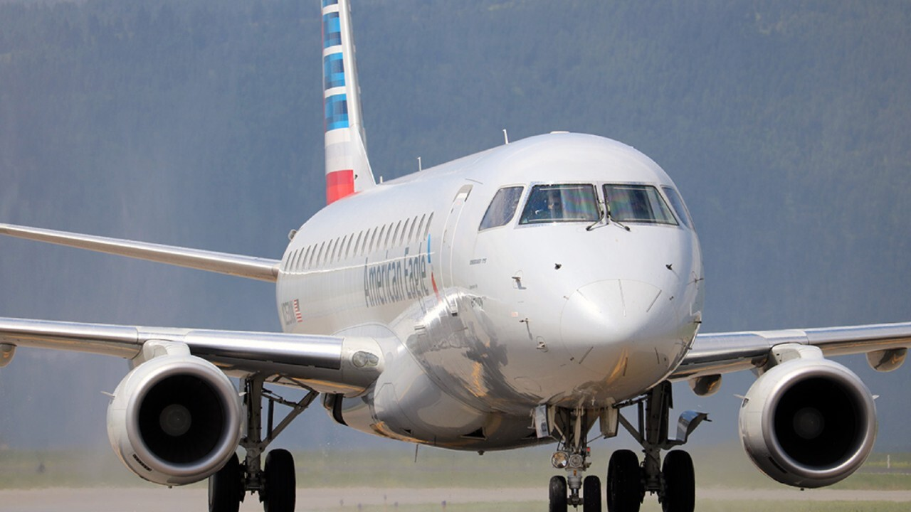 MSO Airport Jet