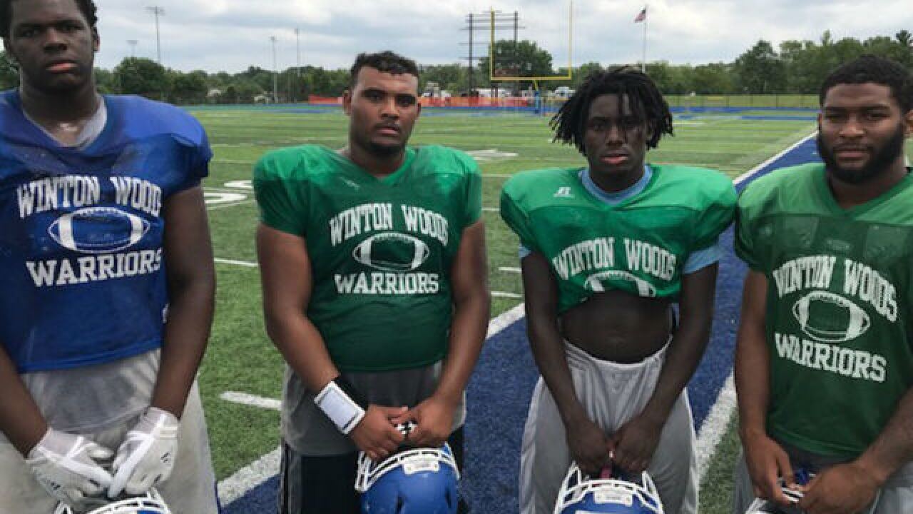 The Winton Woods football team is hungry for a return trip to Canton