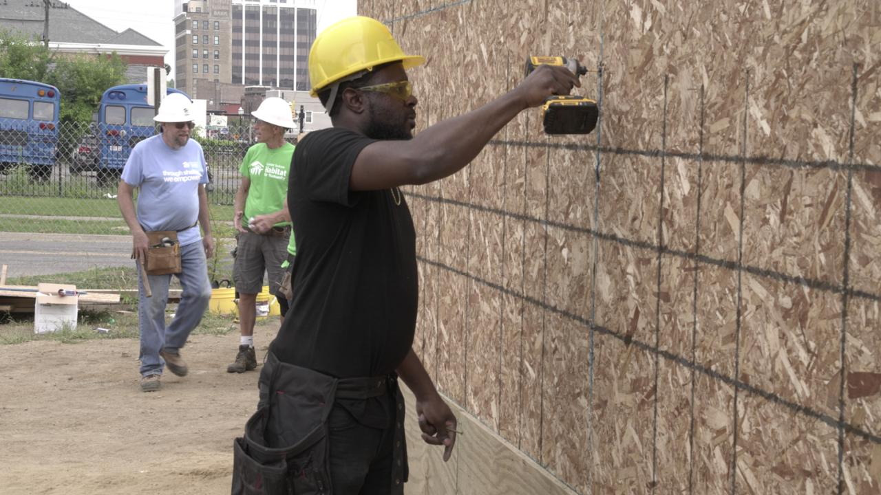 Jackson Habitat for Humanity Blitz Build