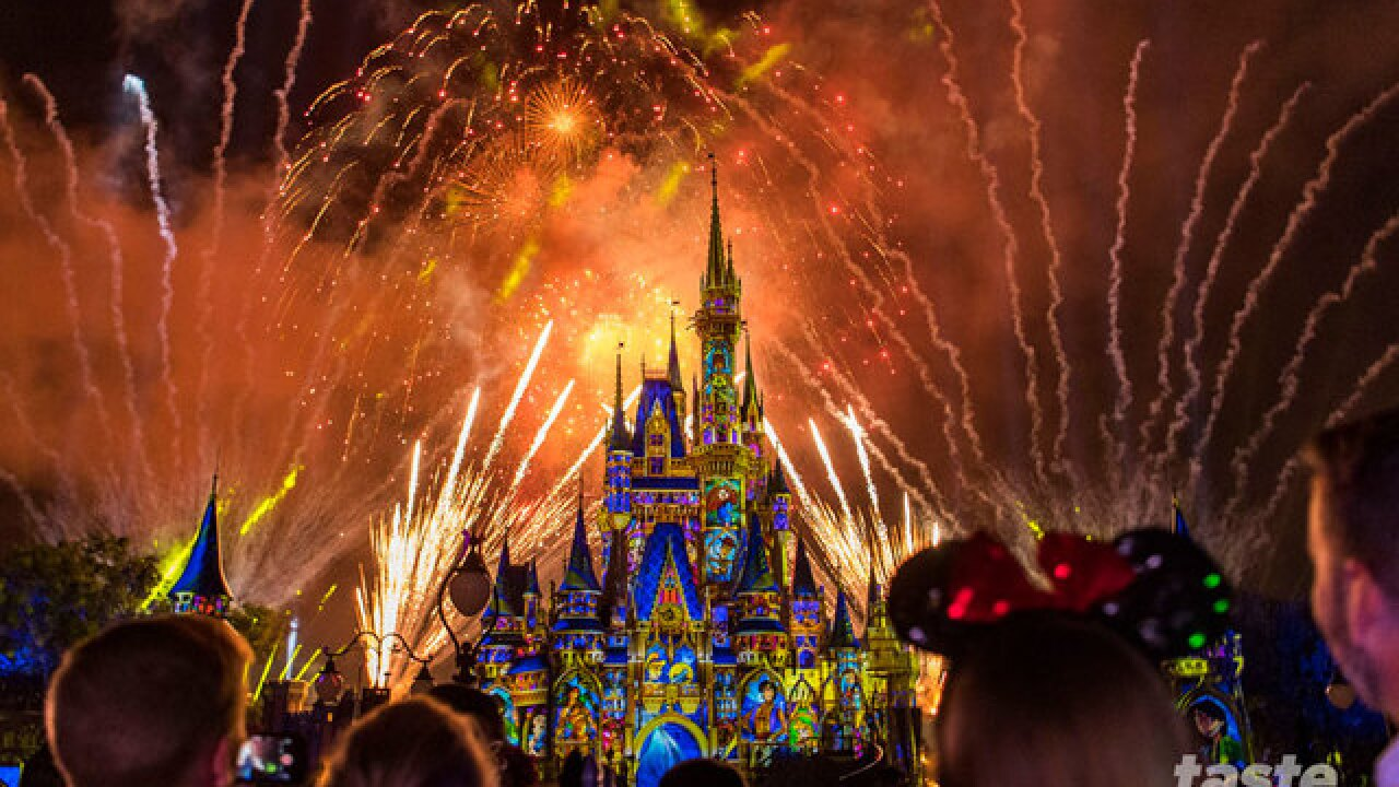 "New ""Happily Ever After"" fireworks and projection show debuts at Magic Kingdom Park"