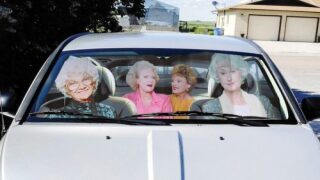 Keep Your Car Cool In Style With A 'Golden Girls' Sun Shade
