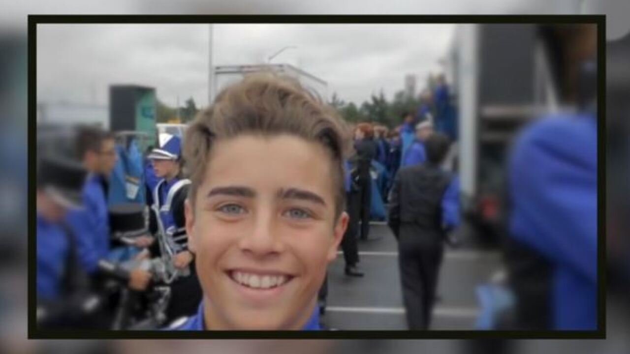 Parents hope son's suicide leads to change