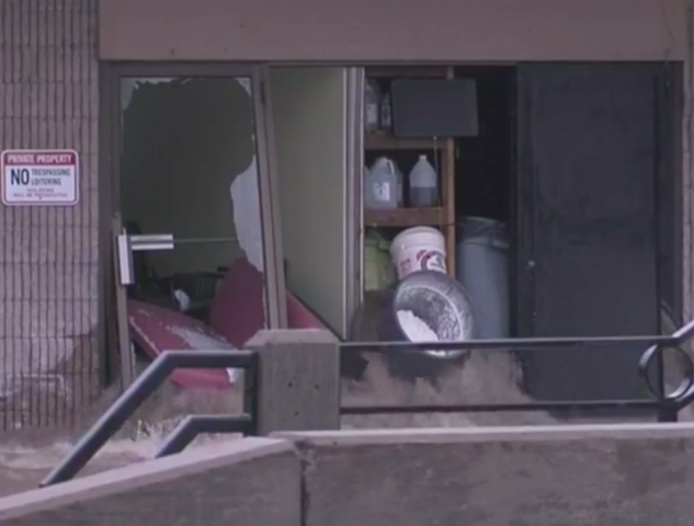 PHOTOS: Flash flood waters rage through south KC metro