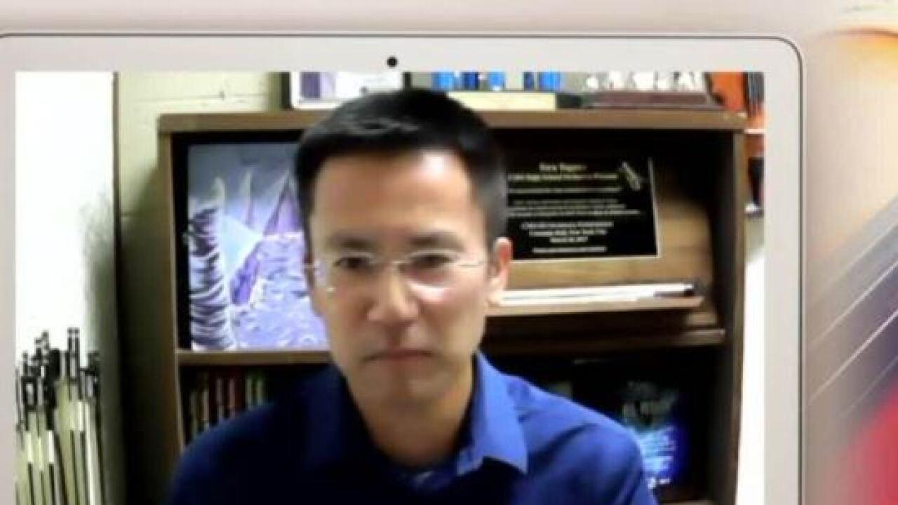 Toru Tagawa has been an orchestra director at CDO High School since 2008.