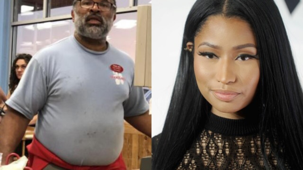 Nicki Minaj plans on donating $25,000 to 'Cosby Show' actor Geoffrey Owens