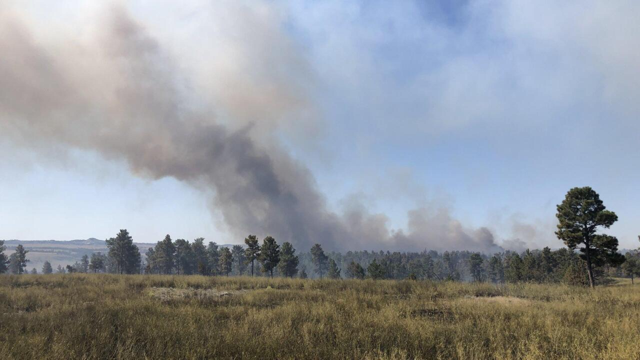 Ridgetop Fire grows to over 9,000 acres