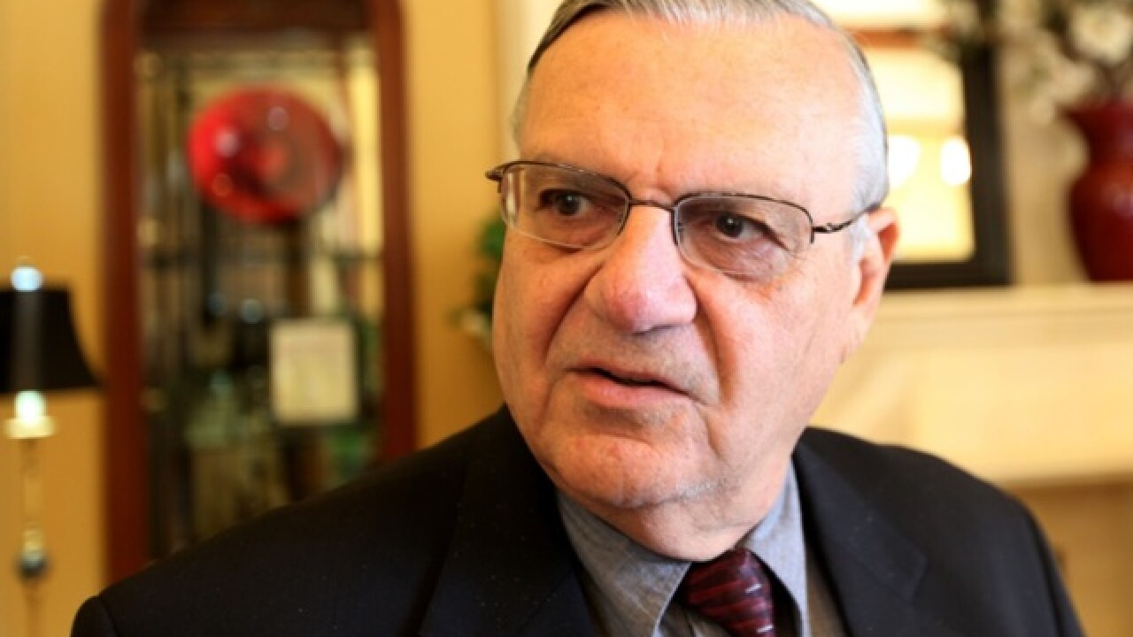 Joe Arpaio charged with criminal contempt