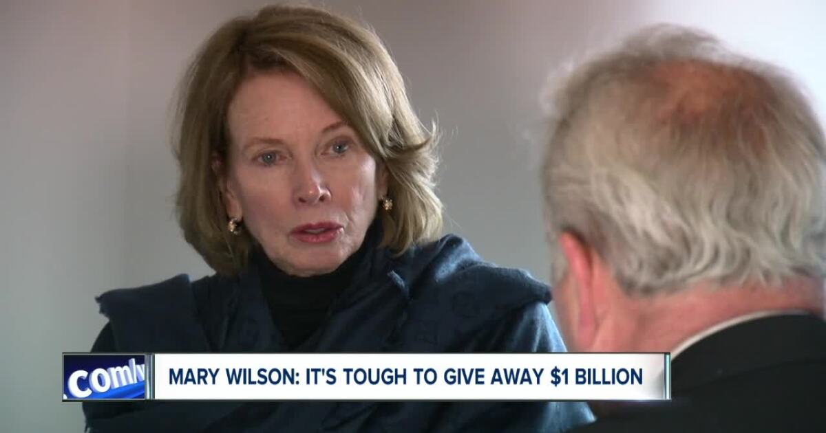 Giving away Ralph Wilson's money is harder than it sounds