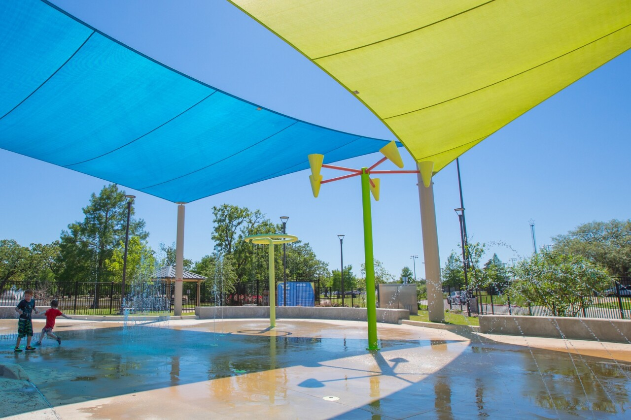 Fun For All Playground Splash Pad (City of College Station)