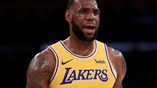 LeBron James beefs up security at home after rash of burglaries at celebrities' homes, TMZ reports