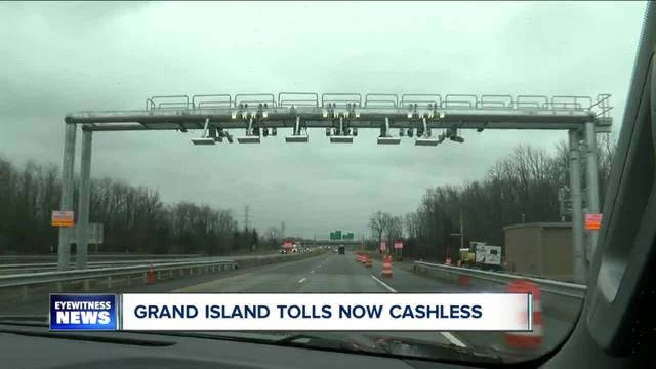 Cashless tolls on Grand Island are now working