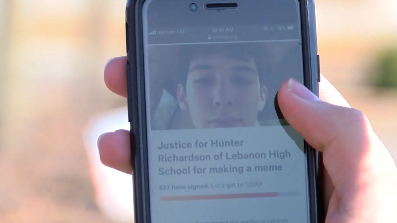 Ohio high school student expelled for posting explicit meme to social media
