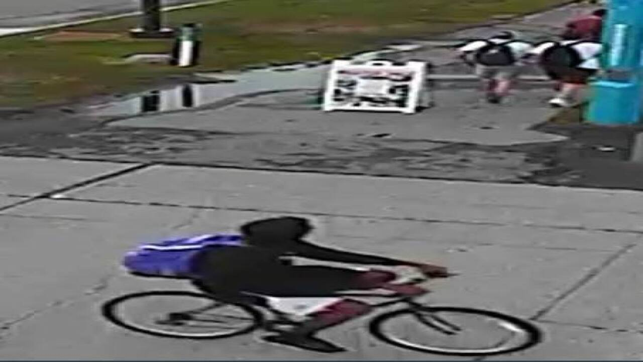 UB Police looking for bike bandit