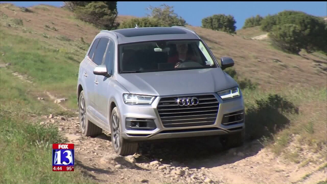 Taking the Audi Q7 off road