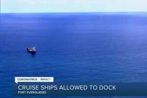 'Sick' cruise ships moving toward Port Everglades in Fort Lauderdale