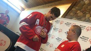 Dylan Larkin Special Olympics
