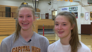 Bartsch twins playing vital roles for Helena Capital volleyball