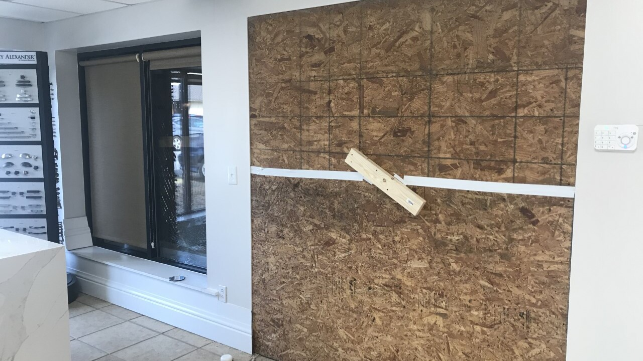 'There was glass everywhere' Norfolk business owner picks up the pieces after car crashes into his store