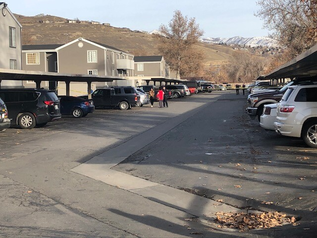Photos: One person hospitalized in serious condition after shooting in Salt Lake City