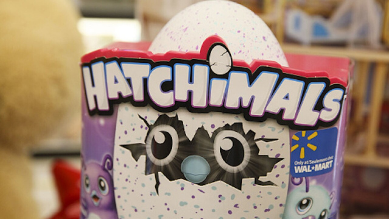 "Toys ""R"" Us, Target to have more Hatchimals"