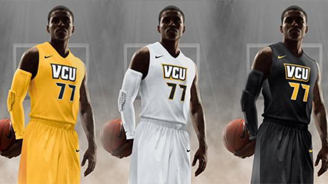 Gold is back! VCU unveils new basketball uniforms