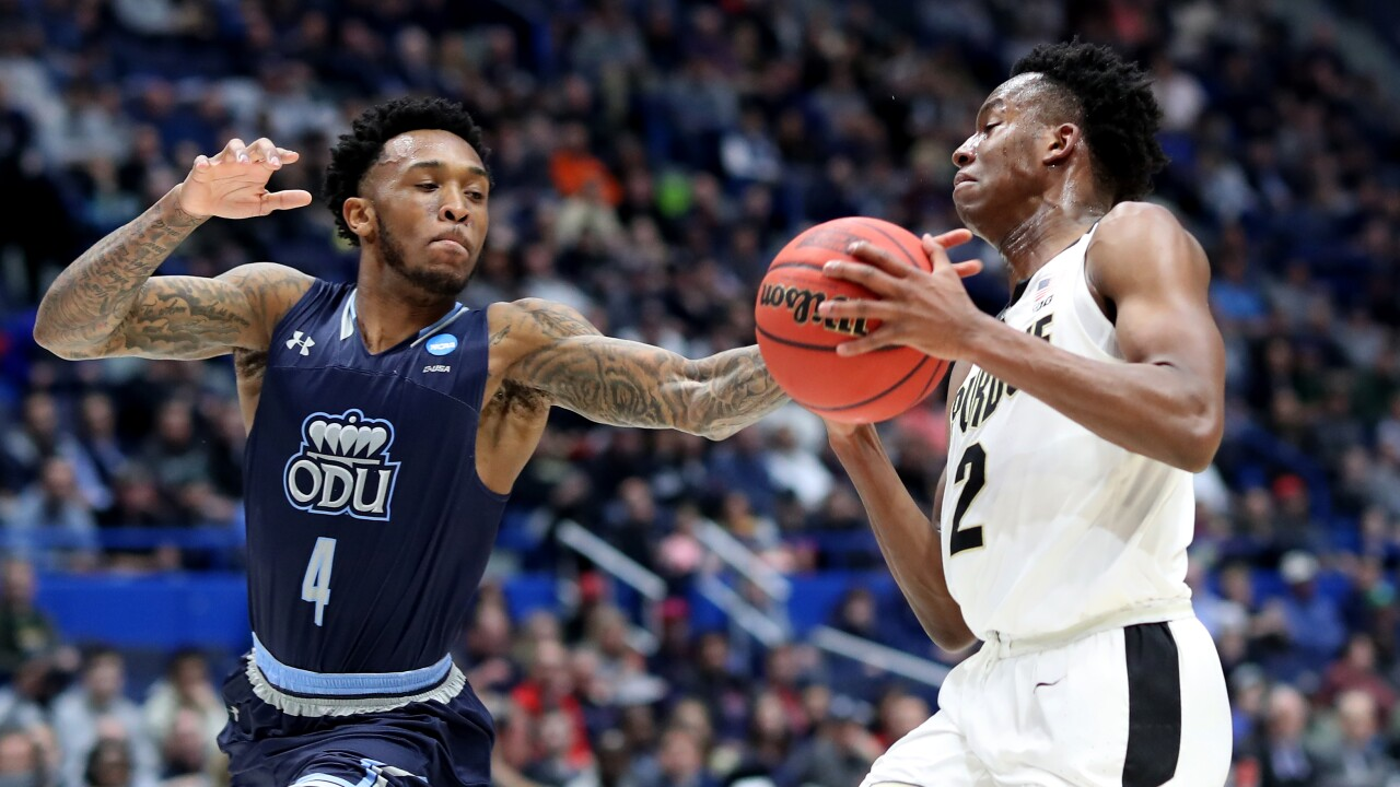Purdue pounds Old Dominion in first round NCAA Tournamenttilt