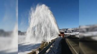 CDOT snowplow