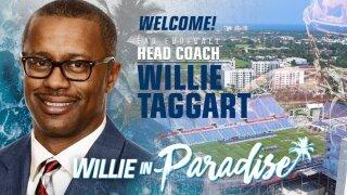 Taggart Named Head Football Coach