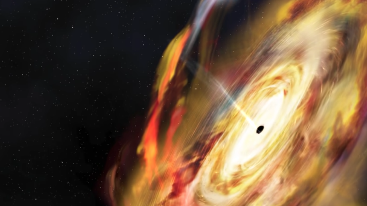 Astronomers witness black hole system that does not behave like others