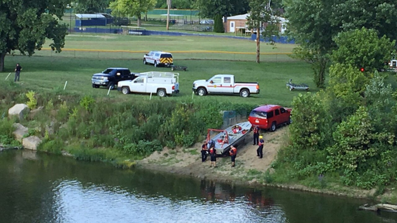 Possible drowning on Great Miami River