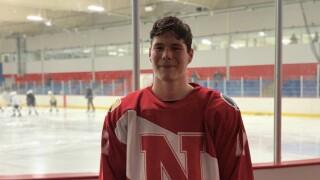 Filip Ananiew of Northview hockey