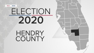 Hendry County sample ballot for 2020 Primary Election