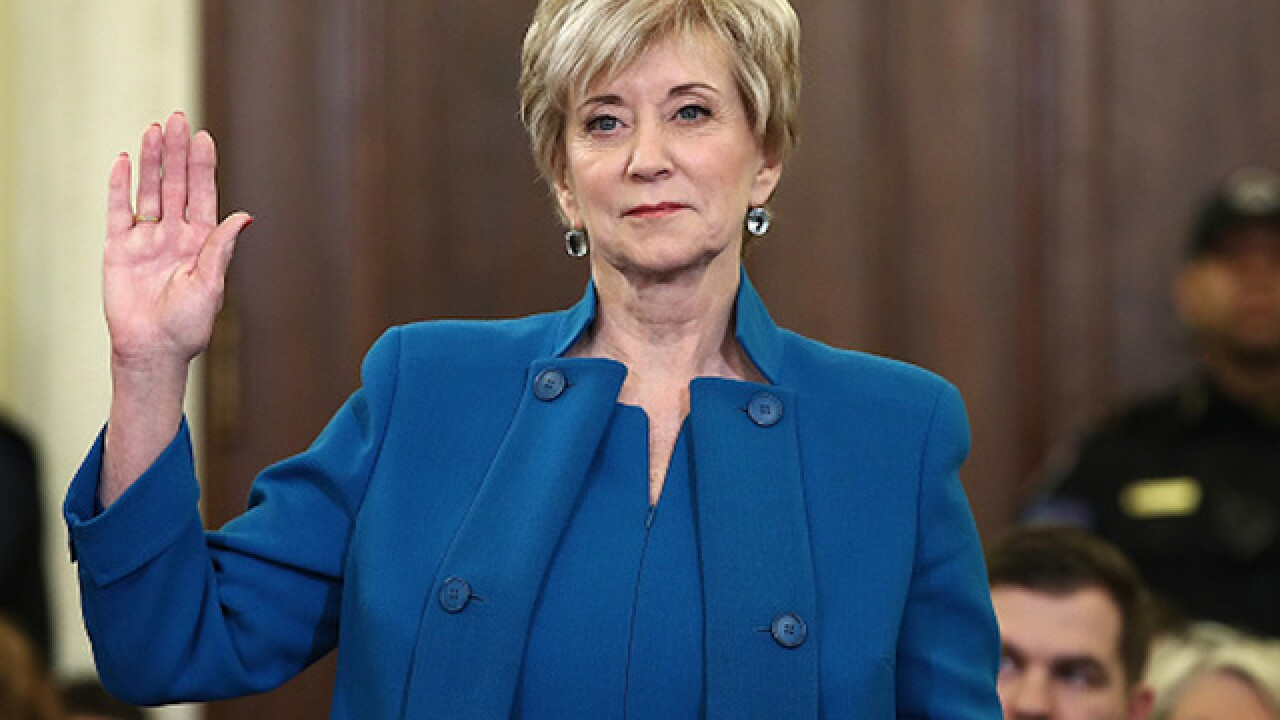 Linda McMahon, former WWE executive, confirmed to head Small Business Administration