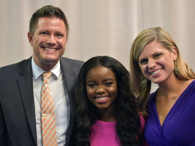 2018 Brightest & Best Awards at WPTV honoring the area's valedictorians
