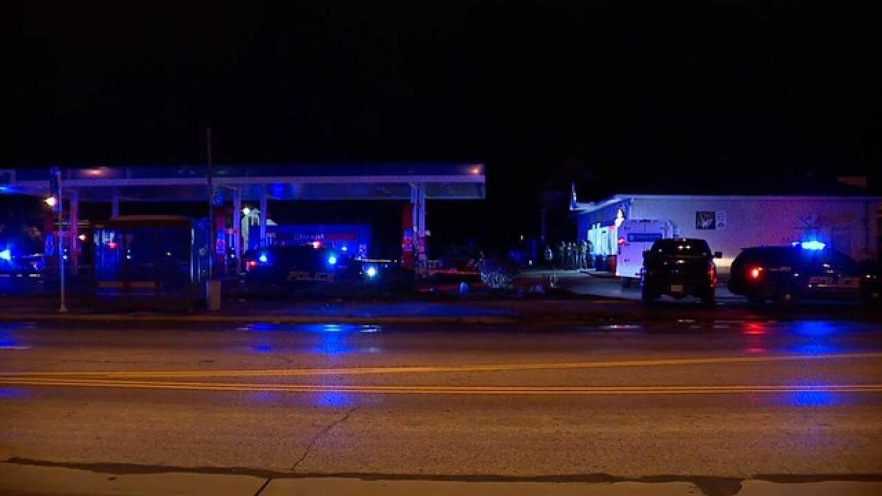 1 man dies in shooting at gas station