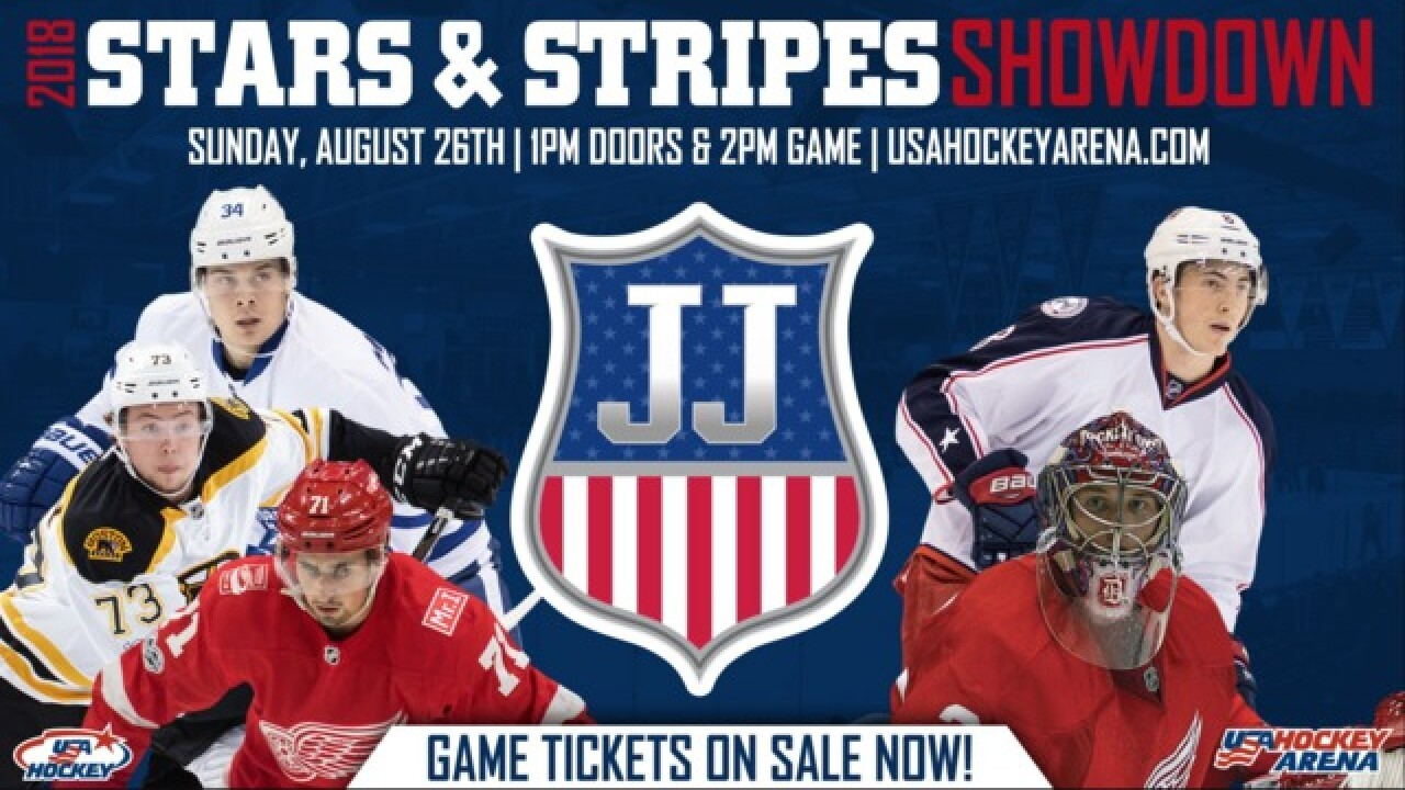 Game in metro Detroit with American NHL stars honors late USA Hockey exec