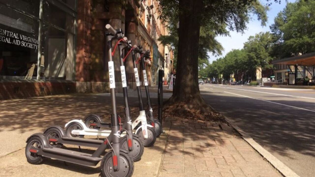 Bird Scooters returning to Richmond streets