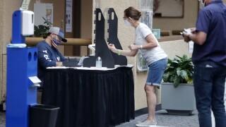 Virus Outbreak Election Voting