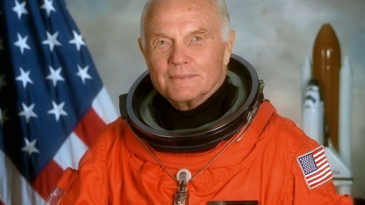 President Obama orders flags lowered for John Glenn