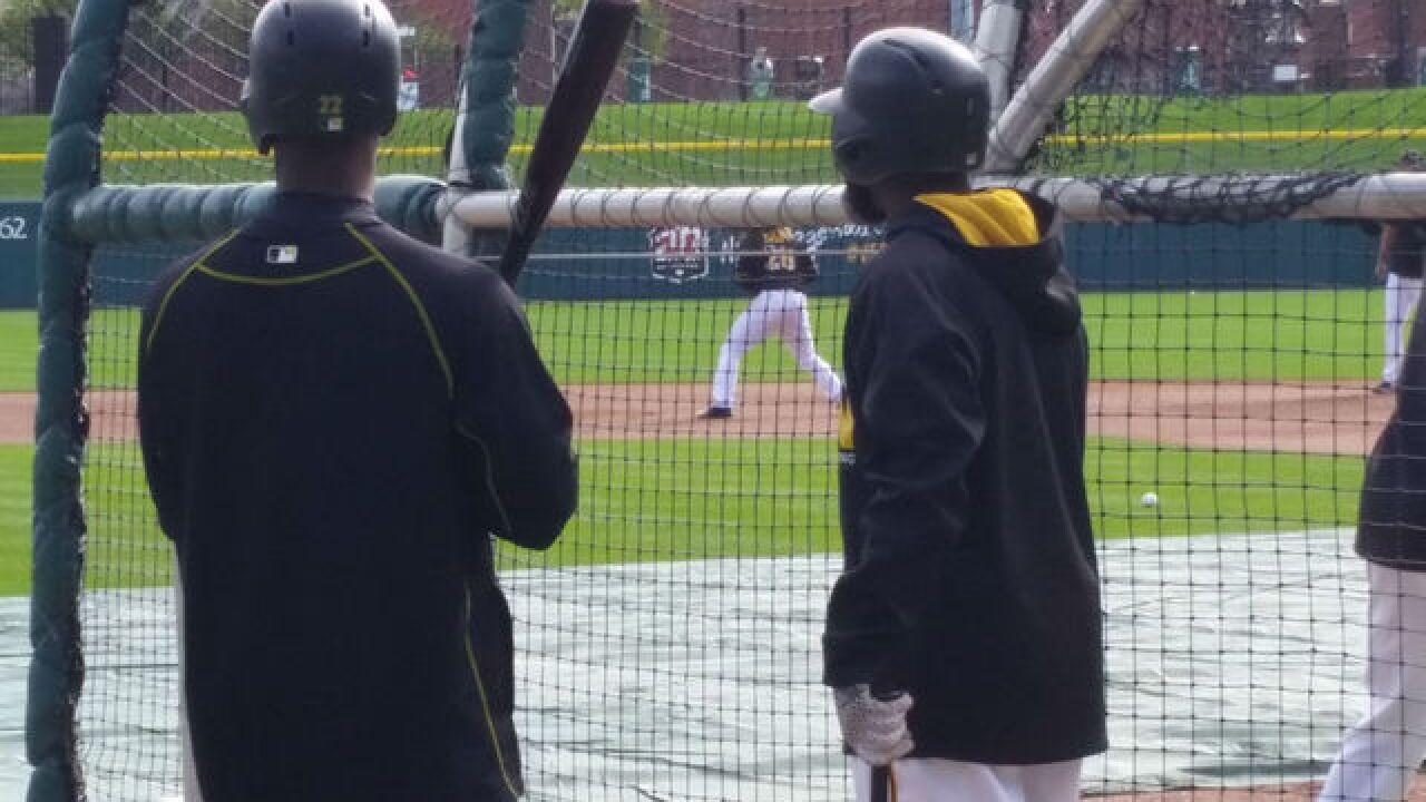PICS: Reds and Pirates game at Victory Field