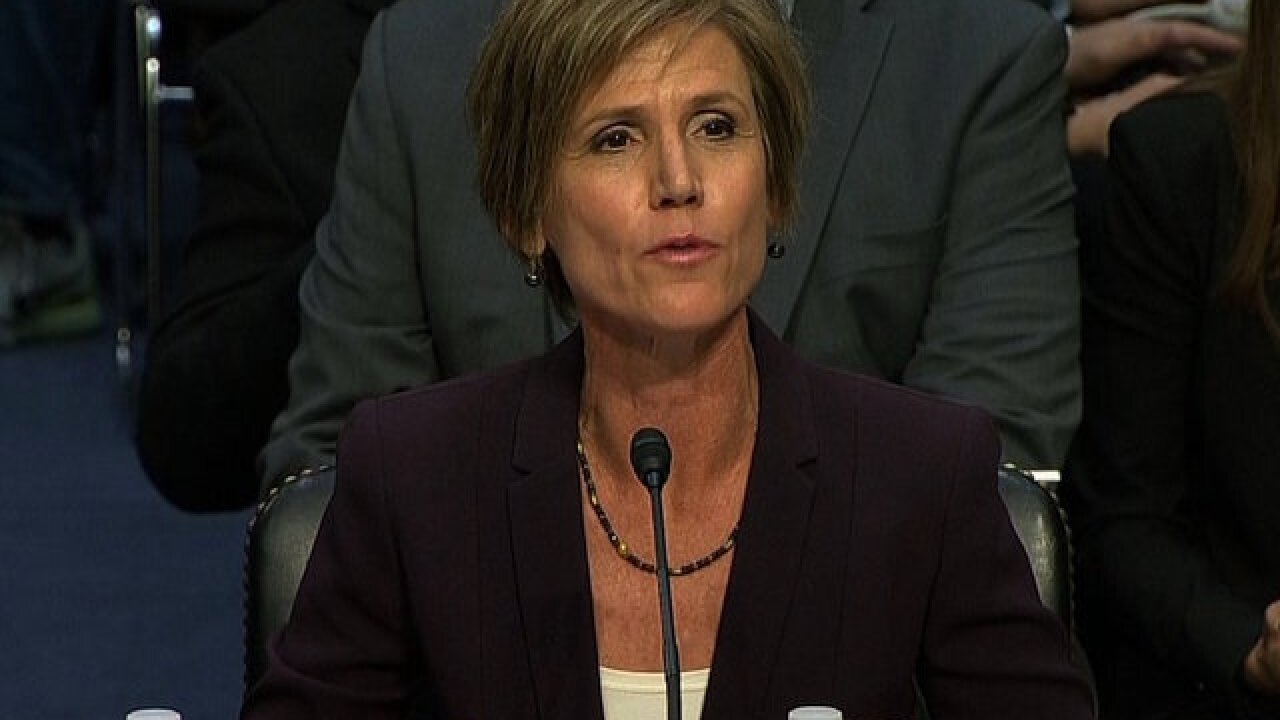 Yates on Trump's travel ban: 'Arguments have to be based on truth'