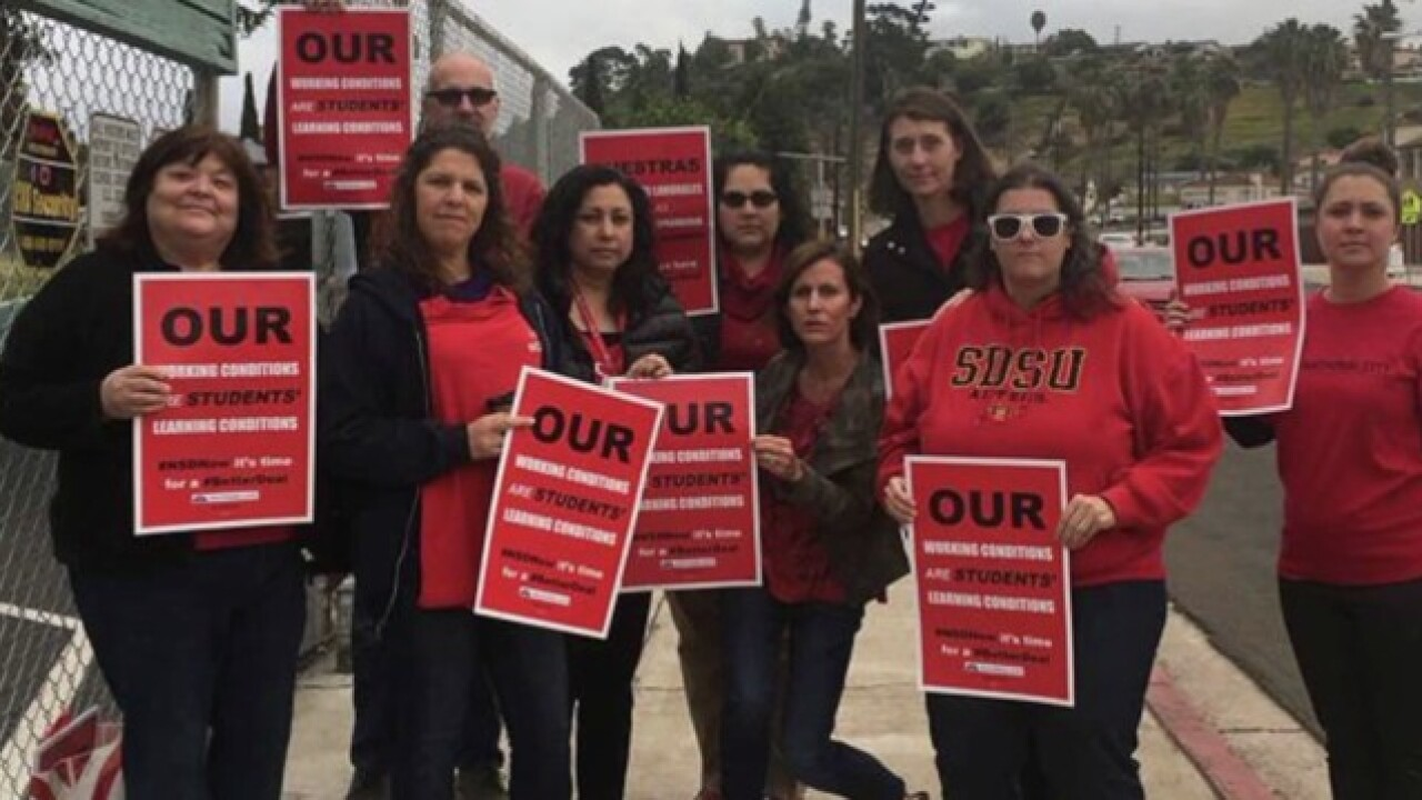 National City teachers to hold strike vote
