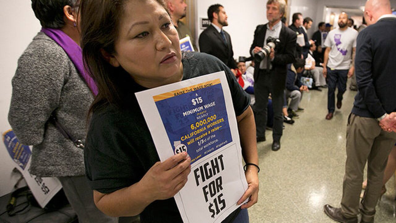 Lawmakers to vote on minimum wage hike Thursday